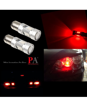 PA 2x 21 SMD 2835 LED 1157 1157LL BAY15D 10-30V Tail Turn Brake Stop Reverse Signal Light Bulb-Red